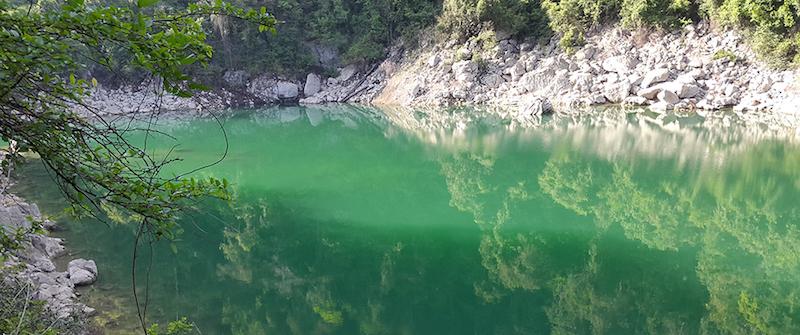 laguna sepalau chisec alta verapaz foto por extremoextremo com - Lagunas Sepalau en Alta Verapaz