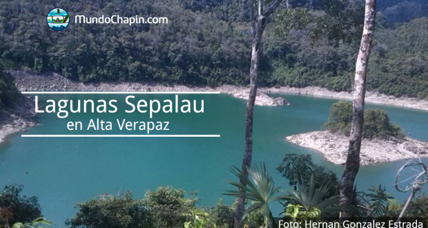 Lagunas Sepalau en Alta Verapaz