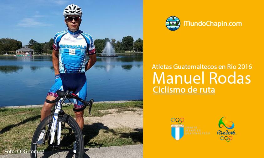 Manuel Rodas, Guatemala, Ciclismo de ruta Rio 2016