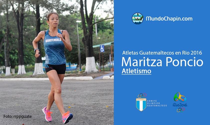 Maritza Poncio, Guatemala, Atletismo Rio 2016