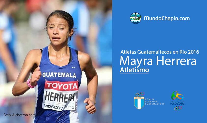 Mayra Herrera, Atletismo, Guatemala Rio 2016
