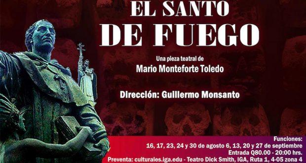 """Evento – Obra de teatro """"El santo de fuego"""""""