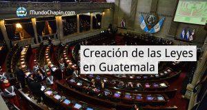 Creación de las Leyes en Guatemala