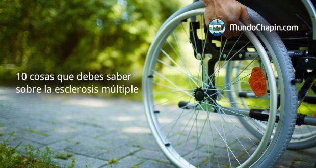 10 cosas que debes saber sobre la esclerosis múltiple