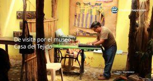 De visita por el museo Casa del Tejido