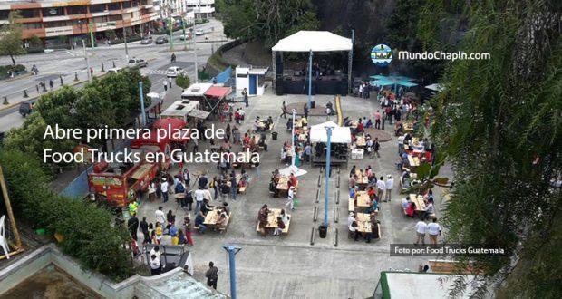 Abre primera plaza de Food Trucks en Guatemala