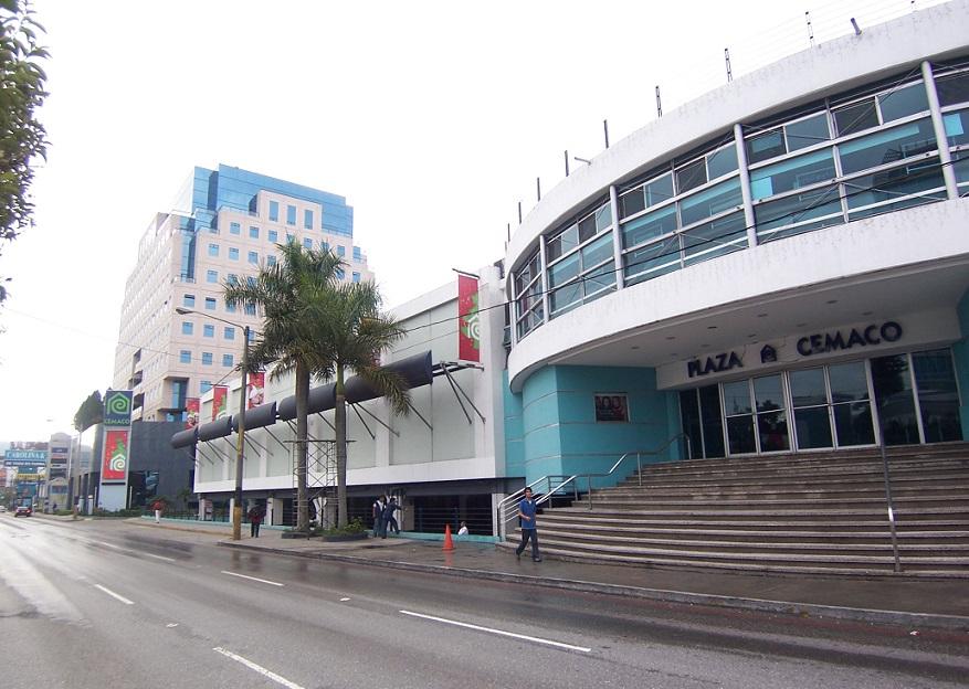 l26 - Principales Centros Comerciales en el Departamento de Guatemala