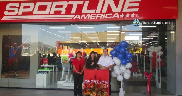 SportLine América Guatemala inaugura nueva tienda