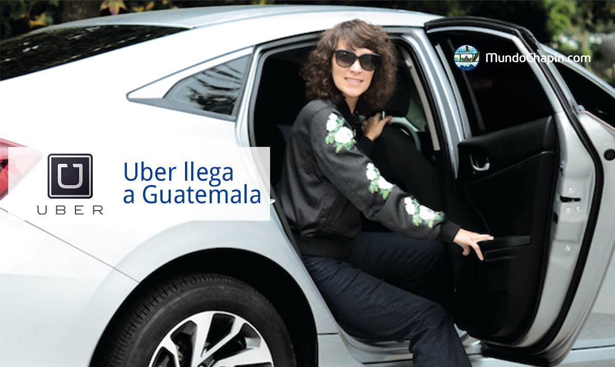 Uber llega a Guatemala