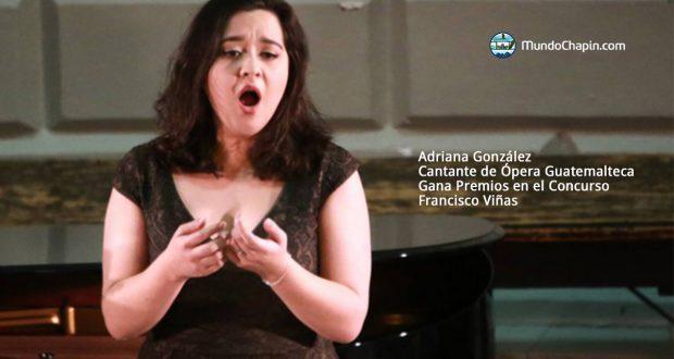 Adriana González Gana Premios en el Concurso Francisco Viñas