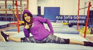 Ana Sofía Gómez deja la gimnasia