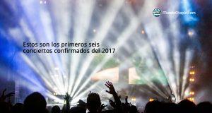 Estos son los primeros seis conciertos confirmados del año