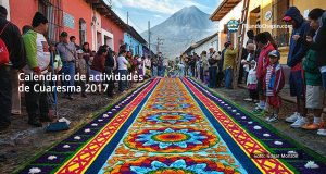 Encuentra aquí el calendario de actividades de Cuaresma 2017