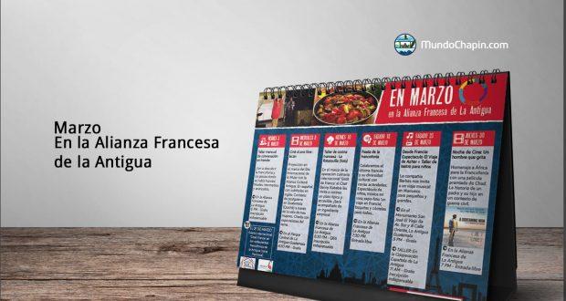 Marzo en la Alianza Francesa