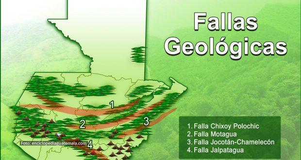 Fallas Geológicas en Guatemala