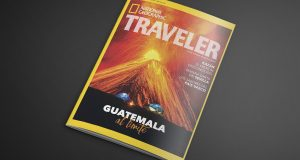 Guatemala forma parte de la portada del mes de abril de National Geographic