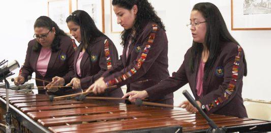 Marimba Femenina de Concierto guatemala mundochapin