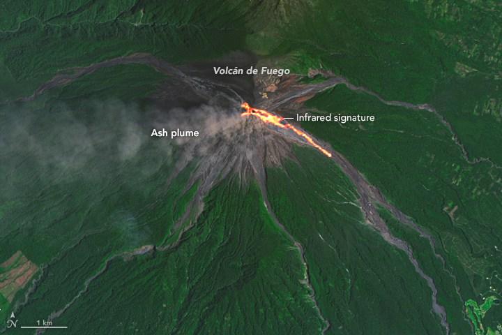 fuego oli 2016251 - Erupción del Volcán de Fuego en 2018