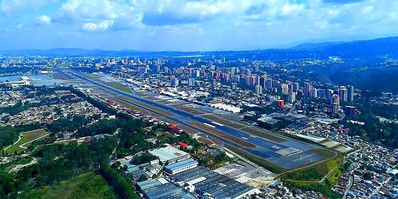cuantos aeropuertos hay en guatemala - Limitación en la Altura de los Edificios en la Ciudad de Guatemala