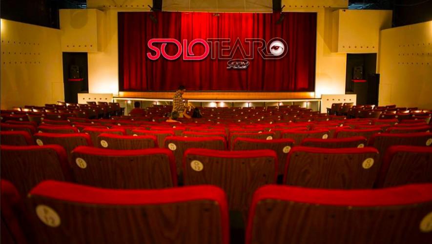 solo teatro 885x500 1 - 5 Teatros en la Ciudad de Guatemala
