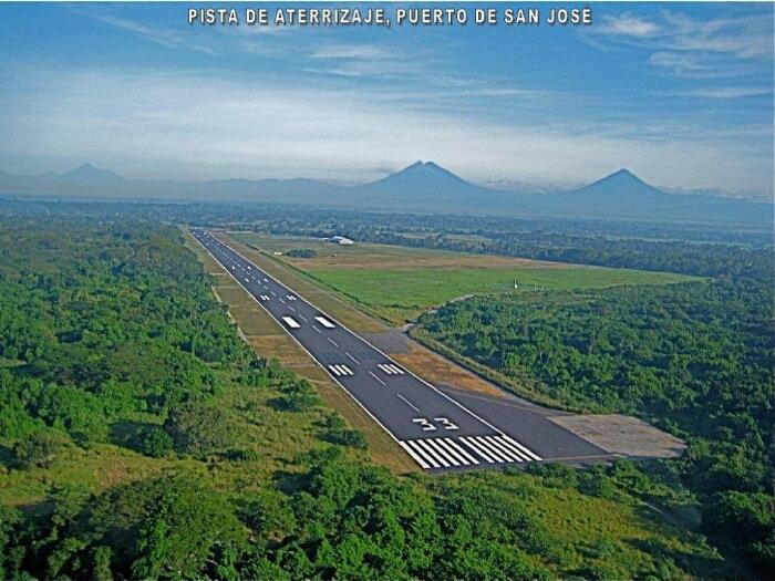 proyecto pto san jose - Los 6 Aeropuertos más Importantes en Guatemala