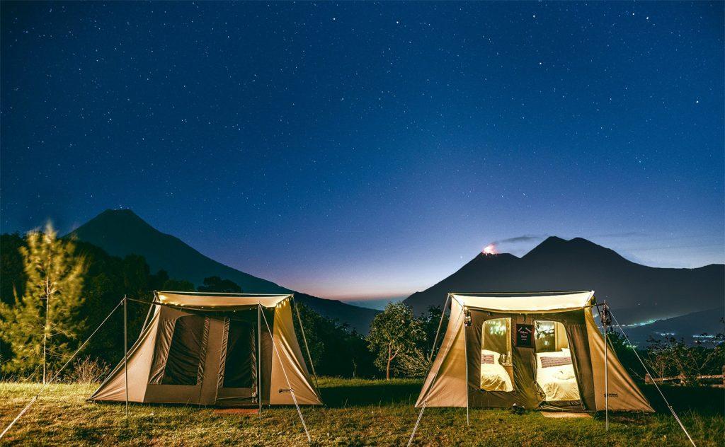 trek guatemala glamp camp stars 1024x632 1 - 4 lugares de Glamping en Guatemala
